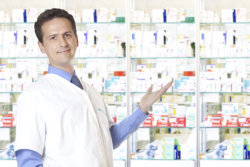 staff at drug store